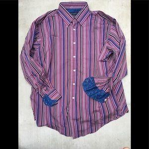 Ted Baker Mens 161/2 32/33 Button Shirt